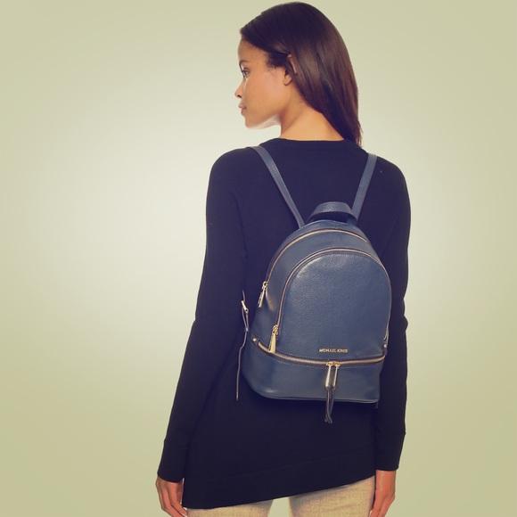 70bfc20c4a73 Michael Kors Rhea Backpack. M 5a8e0c59f9e501a89714d04d